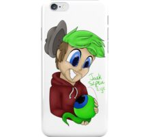 A Boy and His Eye (v.2) iPhone Case/Skin