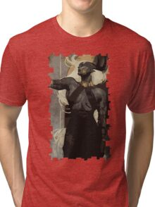 Female Qunari Tarot Card Tri-blend T-Shirt