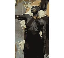 Female Qunari Tarot Card Photographic Print