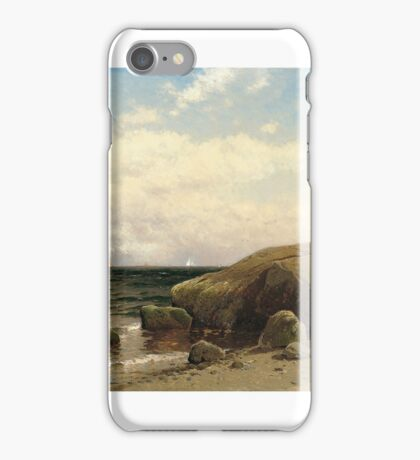 Looking out to Sea - Alfred Thompson Bricher iPhone Case/Skin