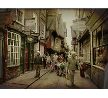 The Shambles, York, UK Photographic Print