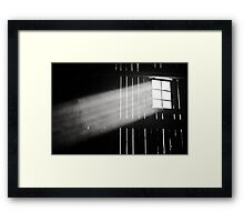 And in came the light Framed Print