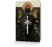 Blackwall Tarot Card 1 Greeting Card