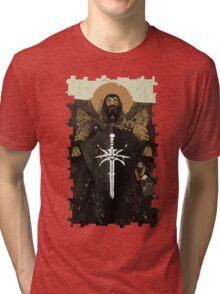 Blackwall Tarot Card 1 Tri-blend T-Shirt