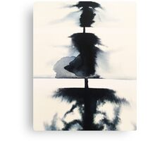 Ink Art Canvas Print