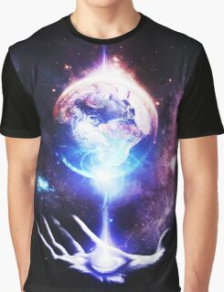 The Whole World in the Palm of Your Hand Graphic T-Shirt