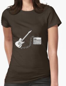 Vox & Telecaster  Womens Fitted T-Shirt