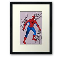Spider Man (1552 Views) Framed Print