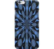 Blue Steel and Black Fragmented Kaleidoscope iPhone Case/Skin