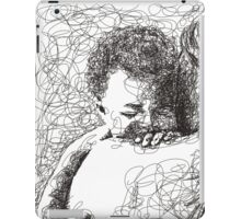 Mother holding baby iPad Case/Skin