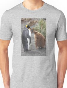 King Penguin and chick ~ Meal Time Unisex T-Shirt