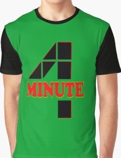 ♥♫Hot Fabulous K-Pop Girl Group-4Minute Cool K-Pop Clothes & Phone/iPad/Laptop/MackBook Cases/Skins & Bags & Home Decor & Stationary♪♥ Graphic T-Shirt