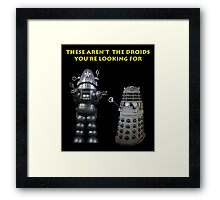 The Wrong Droids Framed Print