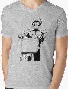 Mumen Rider One Punch Man Mens V-Neck T-Shirt