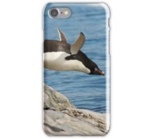 "Adelie Penguin ~ ""I Can Fly"" iPhone Case/Skin"