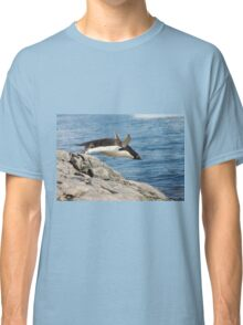 "Adelie Penguin ~ ""I Can Fly"" Classic T-Shirt"