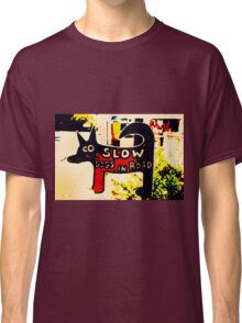 Dogs in Road Classic T-Shirt