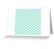 Knitted Pattern Greeting Card
