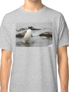 "Gentoo Penguin ~ ""Gawd it's Cold"" Classic T-Shirt"