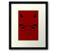 The Devil Framed Print