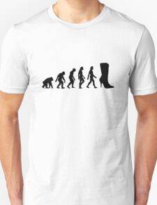 The Evolution of shoes T-Shirt