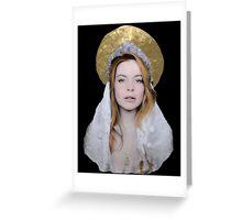 Saint Lindsay Icon Greeting Card