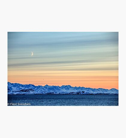 Sisimiut by winter Photographic Print