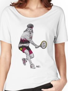 Tennis Agassi Women's Relaxed Fit T-Shirt