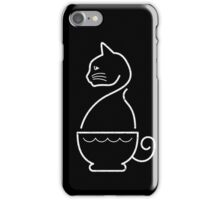 A Cat of Coffee iPhone Case/Skin