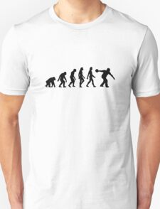 The Evolution of Bowling T-Shirt