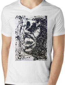 Scream Mens V-Neck T-Shirt
