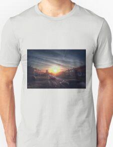 Tendring Road Sunrise Unisex T-Shirt