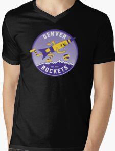 Denver Rockets ABA Basketball  Mens V-Neck T-Shirt