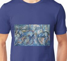 Galloping horses 1 Unisex T-Shirt