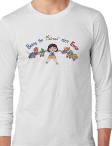 "Snow ""Weight-Liftin"" White Long Sleeve T-Shirt"