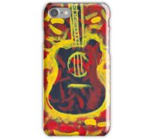 'The Boxing Guitar' by Ryan Kelly (2016) iPhone Case/Skin