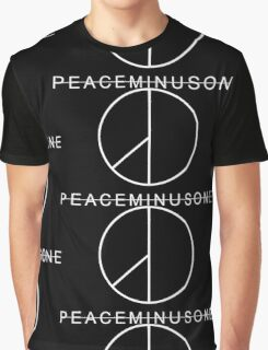 PeaceMinusOne (White) GD Graphic T-Shirt