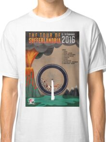 Tour of Sufferlandria 2016 - Official Artwork Classic T-Shirt