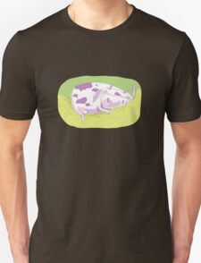 Tiny Spotted Sleeping Cow Unisex T-Shirt