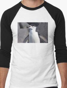 """Chinstrap Penguin ~ """"The Geologist"""" Men's Baseball ¾ T-Shirt"""