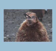 "King Penguin Chick ~ ""Attitude"" Kids Tee"