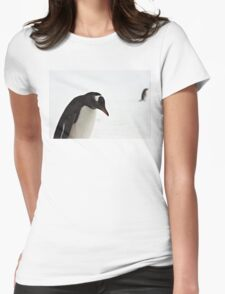 """Gentoo Penguin ~ """"It's a hard life"""" Womens Fitted T-Shirt"""