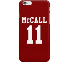 Scott Varsity iPhone Case/Skin