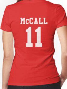 Scott Varsity Women's Fitted V-Neck T-Shirt
