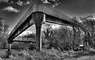 Footbridge  by Nigel Bangert