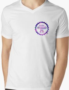 Vaporwave Nintendo Mens V-Neck T-Shirt