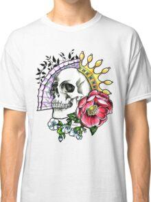 Skull tattoo by benocsart Classic T-Shirt