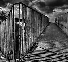 Footbridge Railings by Nigel Bangert