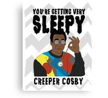 Creeper Cosby Canvas Print