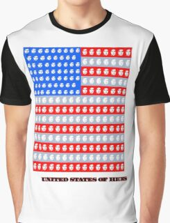The United States of Hicks Graphic T-Shirt